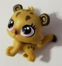 LITTLEST PET SHOP LPS #36 PETS IN THE CITY CUBBY COUGAR BROWN BABY CAT PURPLE