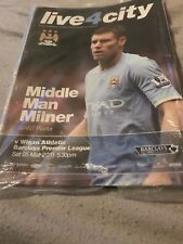 Manchester City V Wigan 5th March 2011 Premiership