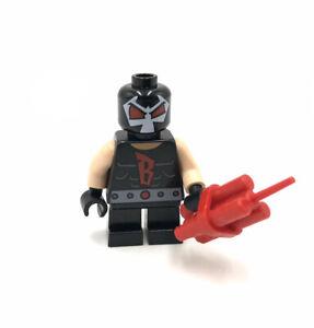 Lego Bane Short Legs minifigure Super Heroes DC 76062 Batman mini figure