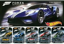 2016 HOT WHEELS FORZA MOTORSPORTS  Entertainment Toys R Us  Box Set of 5 Premium