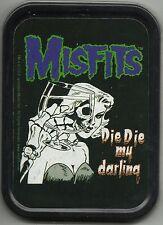 More details for misfits die my darling 2002 oblong stash tin usa import no longer made official