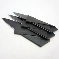 Cardsharp Credit Card Folding Razor Sharp Wallet Knife Survival Tool Thin Camp