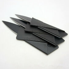 Cardsharp Credit Card Folding Razor Sharp Wallet Knife Survival Tool Thin Camp