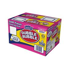 Dubble Bubble Tab Chewing Gum (5,400 Ct) Free Shipping