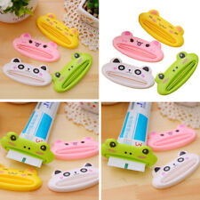 1PC Cartoon Device Toothpaste Dispenser Facial Cleanser Toothpaste Squeeze Clip