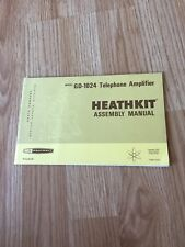 Heathkit Assembly Manual GD-1024 Telephone Amplifier - Manual Only -