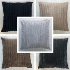 High Quality Handmade FR Jumbo Cord Stripe Cushion Cover Various Sizes Available