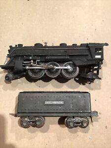 Lionel Prewar 224E 2-6-2 Steamer with 2689W Tender from 1938-42