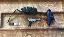 Vintage 1966 issue GIJOE SOTW  German Iron Belt with Pouches,Holster and Luger!