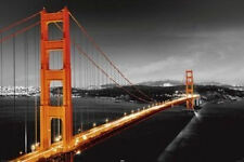 GOLDEN GATE BRIDGE - PHOTO POSTER - 24x36 SHRINK WRAPPED SAN FRANCISCO 20423