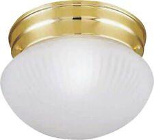 1lt Flush Brs Ceiling Fixture,No F13Bb01-68623L, Boston Harbor