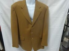 Hickey freeman 100% camel hair men sport coats 42L