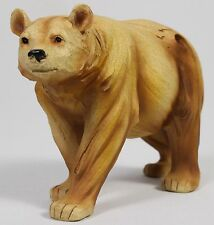 BEAR FAUX WOOD CARVING Figure Statue NEW Wildlife Brown Black Grizzly Polar
