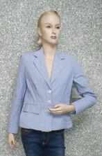 20 31/1 DANIELS & KORFF mujer marcas Chaqueta Blazer Talla 38 We ISS Azul