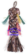 Parrot Pinata Bird Toys - Small Natural Abaca Bac Bac Palm Leaves Chew Shred
