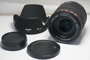 [NEAR MINT w/HOOD] SIGMA ZOOM 18-200mm F/3.5-6.3 DC for Nikon F Mount JAPAN #83