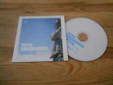 CD Pop Pete Greenwood - Sirens (12 Song) Promo HEAVENLY REC  / COOP cb