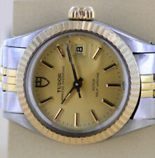 Tudor Princess Date Automatic Oyster Case by Rlx 25mm Bicolor Lady Ref.92413