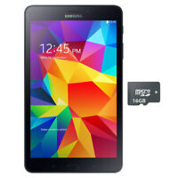 "NEW Samsung Galaxy Tab A 8"" Quad-Core 1.4GHz 16GB WiFi Black + 16GB microSD"