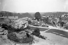 1910s TUNBRIDGE WELLS Toad Rock Rusthall Com Antique Photographic Glass Negative
