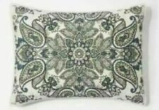 1 Threshold Quilted Paisley Medallion Standard Pillow Sham Nwop