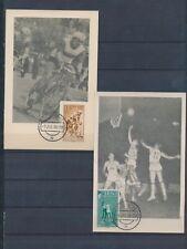 XC46016 IFNI 1958 cycling sports basketball maxicards used
