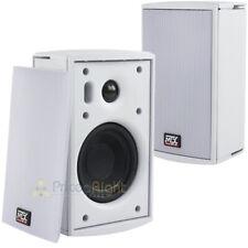 """4"""" Surface Mount Multi-Purpose Speakers Indoor/Outdoor MTX Audio MPP410-W 2 Pack"""