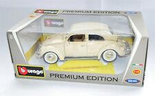 BBurago Premium Edition 1/18 Volkswagen VW Käfer Beetle 1955 beige,neu und OVP
