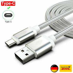 Ladekabel Type C Kabel Fit für Samsung Galaxy S8 S9 S10 A50 A20 Huawei P20 P30