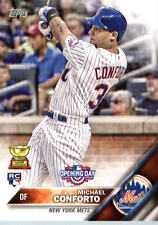 2016 Topps Opening Day #OD72 Michael Conforto New York Mets Rookie Card