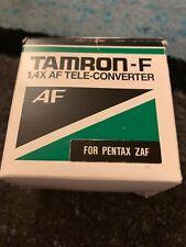 Pentax Tamron 1.4x Pz-AF MC4 Teleconverter -new