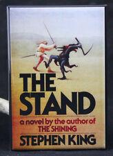 "The Stand Book Cover 2"" X 3"" Fridge / Locker Magnet. Stephen King"