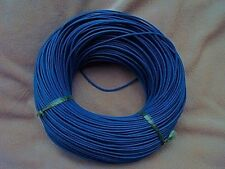 5m Blue Real Leather Round Cord Thong. Leather Thickness 2mm.