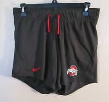 NWT Nike Ohio State Buckeyes Womens Standard Fit Football Shorts M Anthracite