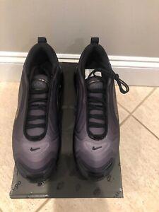 Nike Air Max 720 Size 8.5 Metallic Silver Black