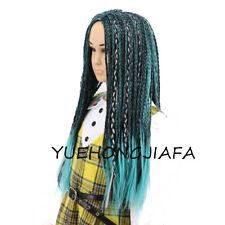 Descendants 2 UMA Braided Wig Use With Costume Halloween Child Cosplay Wig
