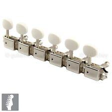 NEW Gotoh SD91-05MA Tuning Keys 6-In-Line w/ Bushings and Screws - NICKEL
