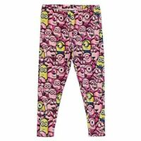 Despicable Me Minion Pink Girls Kids Trousers Leggings 9-10 Yrs A543-4