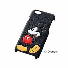 iPhone6 (4.7) Case Leather Cover Disney Mickey Mouse RT-DP7C / MK from Japan