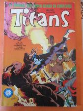 TITANS N)° 119 décembre 1988 Les nouveaux mutants Les vengeurs