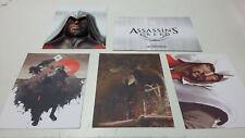 Assassins Creed Ezio Auditore da Firenze 3D Portrait + 3 Ubi Workshop Karten