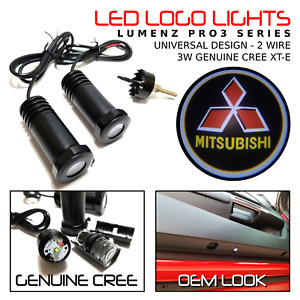 Lumenz CL3 LED Courtesy Logo Lights Ghost Shadow for Mitsubishi 100563