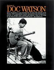 The Songs of Doc Watson Sheet Music Book NEW 014035610
