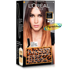 Loreal Preference Brush On Wild Ombre Highlighting Kit For Light To Dark Brown
