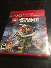 Lego Star Wars III for PlayStation 3 PS3 Brand New Factory Sealed GREATEST HITS