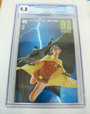 DARK KNIGHT III THE MASTER RACE #9 !!!CGC 9.8!!! JANIN VARIANT DC 2017