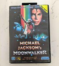 Sega Megadrive Michael Jackson's Moonwalker Japan Import Genesis