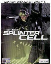 Tom Clancy's Splinter Cell + Mission Pack PC Game Clancys