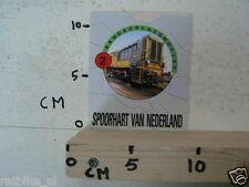 STICKER,DECAL NS RANGEERLOCOMOTIEF TREIN NO 2 SPOORHART VAN NEDERLAND