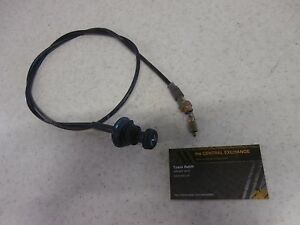 02 Polaris Sportsman 400 4x4 Genuine Gas Fuel Carburetor Choke Cable Plunger Cap